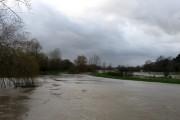 River Adur in Flood