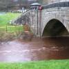 Castleton Bridge and River Esk (west side)