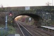 Bridge at Cumbernauld Train Station