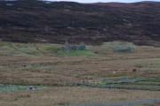 Ruined crofthouse at Catfirth