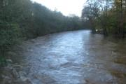 River Don looking West from Grandholm Bridge