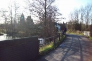 The River Blithe at Hamstall Ridware