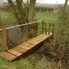 Footbridge near Brockworth
