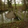 Footbridge at Badgeworth