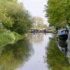 Approaching Weston Lock, Trent and Mersey Canal