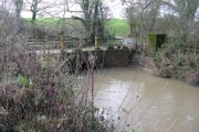 Bridge carrying bridleway over the River Arun at Gibbons Mill