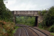 Butterrow Hill Bridge at Bowbridge