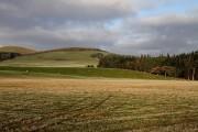 Farmland to the northeast of Easter Happrew