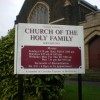 Church of the Holy Family, Boothstown, Sign