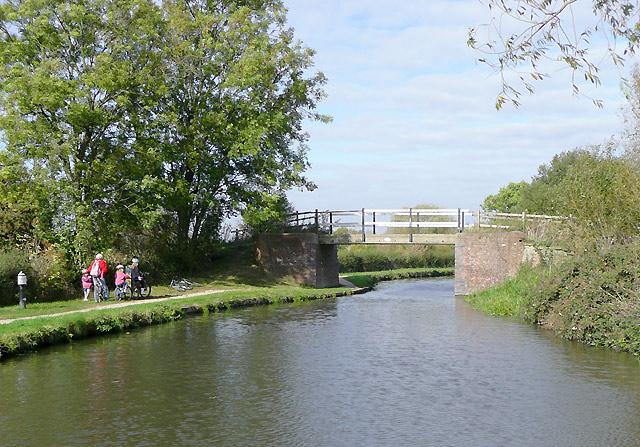 Massey's Bridge near Swarkestone, Derbyshire