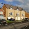 New housing, Alway Crescent, Newport