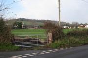 Staplake Lane and Staplake Farm, Starcross