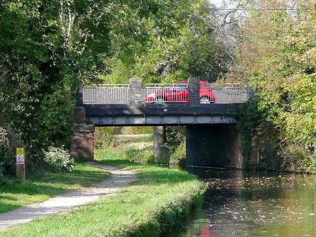 Cuttle Bridge near Swarkestone, Derbyshire