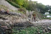 Brixham - Steps down to the beach