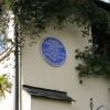 Blue plaque commemorating Henry Williamson