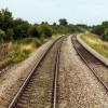 Bridge over track to Stagholt Farm