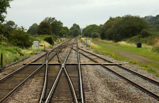 Footpath crossing at Standish Junction