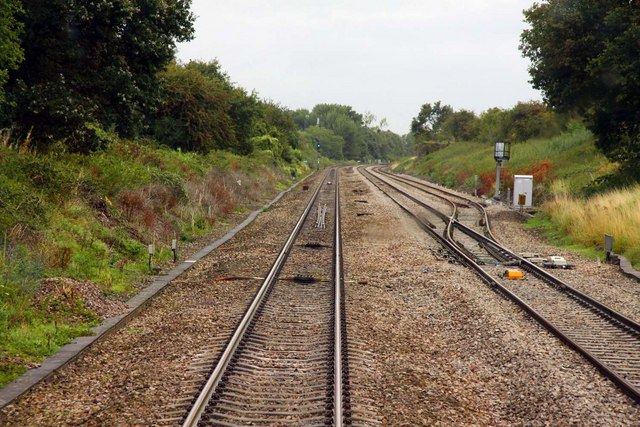 The Down Goods Loop at Little Haresfield