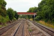 The railway bridge at Haresfield