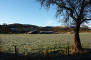 Farm near Nether Hall