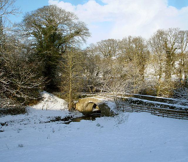 Egglestone Abbey packhorse bridge