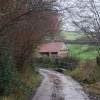 Lane near Leigh Cottage