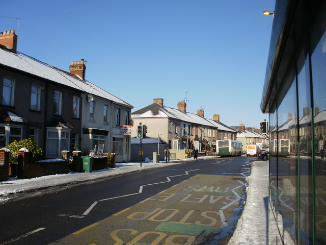Revised bus service, Caerleon Road, Newport