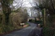 Wolfsdale bridge near Camrose