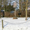 Village sign, Harby