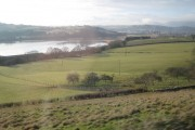 Fields by the Teign estuary, Ware Barton