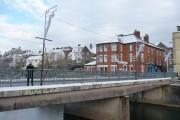 Tiverton : Bridge Street & River Exe