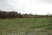Dim eira yn Chwilog - No snow in Chwilog