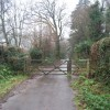 Gate on the old road, Crowcombe