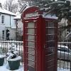 Telephone box, Colinton