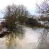 The River Thame at Brookhampton