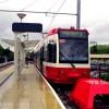 Trams: First day at Beckenham Junction