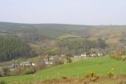 Exmoor: the village of Brendon