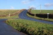 Peek Moor Cross in January