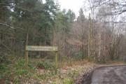 Get your permit, Bedgebury Forest