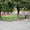 Square and play area, East Usk, Newport