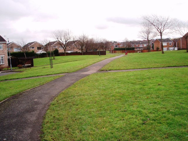 Public footpath through Tudhoe Grange