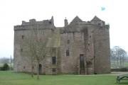 Huntingtower Castle