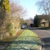 A frosty morning in Mead Way