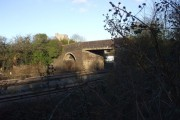 Bridge over the railway, Magor