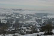 Taddington, 3rd February, the snow is back again