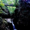 Glen Maye - Highest footbridge over river and gorge
