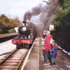 4588 pulls into Goodrington station