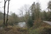 The River Mole close to the B3226