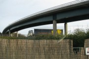 The B4064 crosses the M4