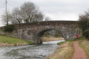 Fossend Bridge over the Grand Western Canal at Burlescombe